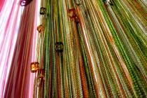 Кисея разноцветные. Стеклярус