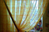 Оформление окна в детской