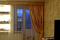 Комплект штор в спальню