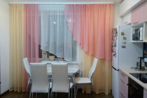 Оформление кухонного окна