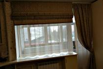 Римская штора на кухонное окно